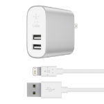 Belkin F8J230DQ04-SLV mobile device charger Indoor Grey,White