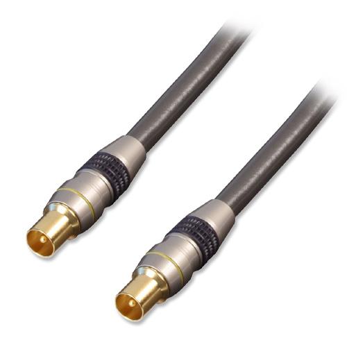 Lindy 37777 coaxial cable 20 m Coax Grey