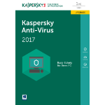 Kaspersky Lab Anti-Virus DACH Edition 1-Desktop 1 year Renewal Box 1user(s) 1year(s) German
