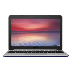 "ASUS Chromebook C201PA-FD0012 1.8GHz RK3288C 11.6"" 1366 x 768pixels Blue,Stainless steel Chromebook"