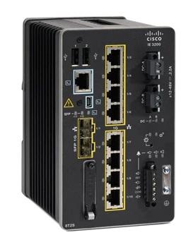 Cisco Catalyst IE-3200-8T2S-E netwerk-switch Managed L2/L3 Gigabit Ethernet (10/100/1000) Zwart