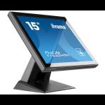 "iiyama ProLite T1532MSC-B5X touch screen monitor 38.1 cm (15"") 1024 x 768 pixels Multi-touch Black"