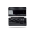 Logitech Alto Cordless RF Wireless Black keyboard