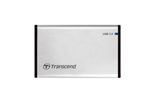 "Transcend StoreJet 25S3 2.5"" USB powered Silver"