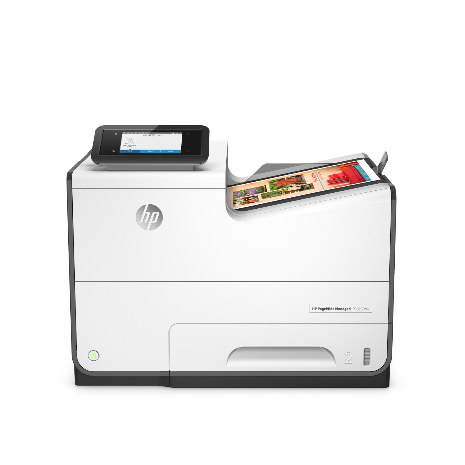 HP PageWide Managed P55250dw inkjet printer Colour 2400 x 1200 DPI A4 Wi-Fi