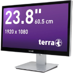 "Wortmann AG TERRA 2415HA GREENLINE 3.5GHz i5-7600 23.8"" 1920 x 1080pixels Touchscreen Black,Silver All-in-One PC"