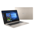 "ASUS VivoBook S510UQ-BQ517T 1.6GHz i5-8250U 15.6"" 1366 x 768pixels Gold Notebook"