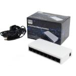 Evo Labs NPEVO-8PORTFE network switch Unmanaged Fast Ethernet (10/100) White