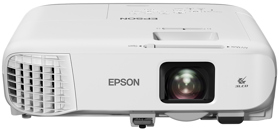 Epson EB-990U data projector 3800 ANSI lumens 3LCD WUXGA (1920x1200) Ceiling-mounted projector Grey,White