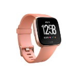"Fitbit Versa smartwatch Rose gold LCD 3.4 cm (1.34"") GPS (satellite)"