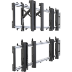 Vision VFM-VWR50 Flat Panel Wandhalter 2,03 m (80 Zoll) Schwarz