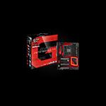 ASROCK Intel - Z270,64GB 4 DDR4, 10 Power Phase, Quad SLI 3 x M.2 (2 for SSD, 1 for WiFi), Dual Intel LAN,