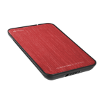 """Sharkoon QuickStore Portable 2.5"""" Black,Red"""