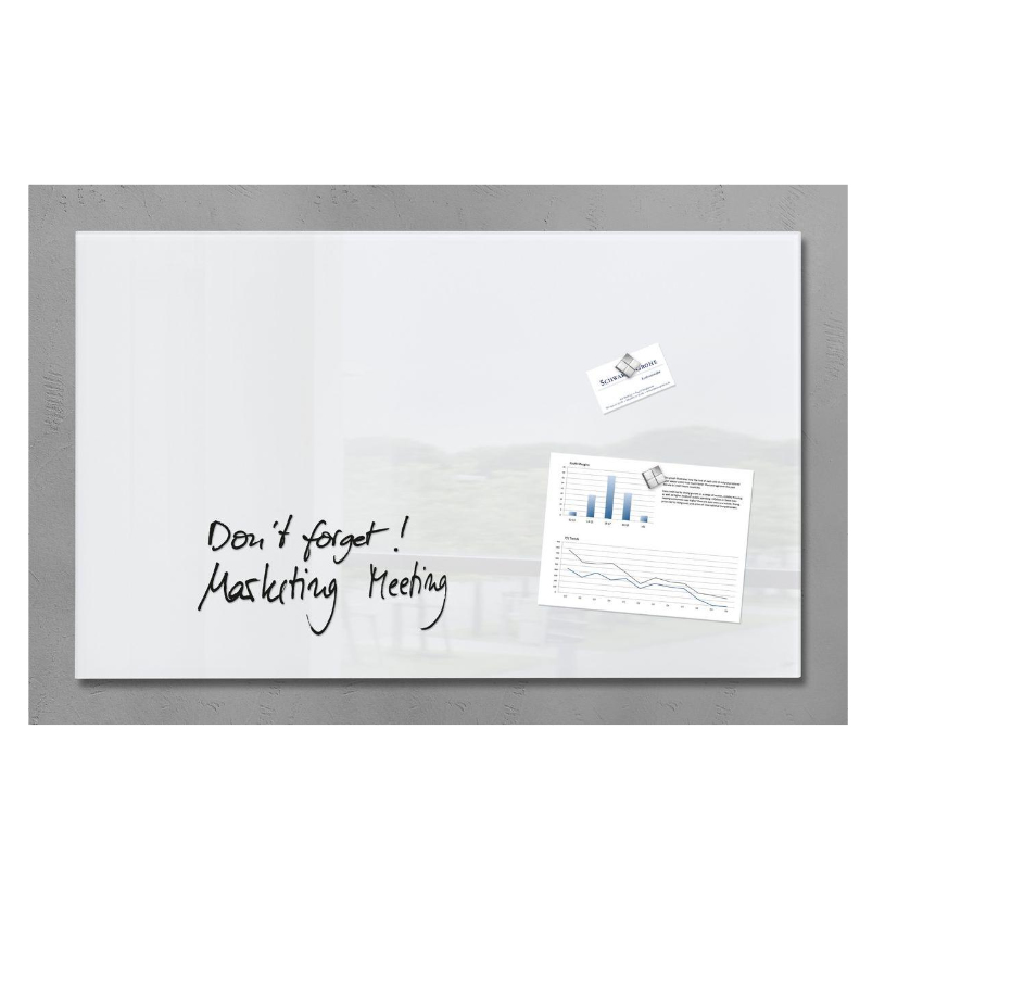 Sigel artverum Glass White magnetic board