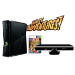 Microsoft Xbox 360 Slim 4GB + Kinect Adventures + Kinect