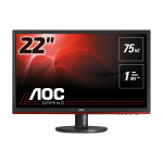 "AOC Gaming G2260VWQ6 LED display 54.6 cm (21.5"") Full HD Flat Matt Black"
