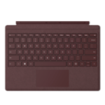 Microsoft Surface Go Type Cover teclado para móvil QWERTY Borgoña Microsoft Cover port