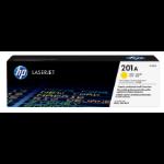 HP 201A Origineel Geel 1 stuk(s)