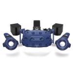 HTC VIVE Pro Eye Dedicated head mounted display Black, Blue