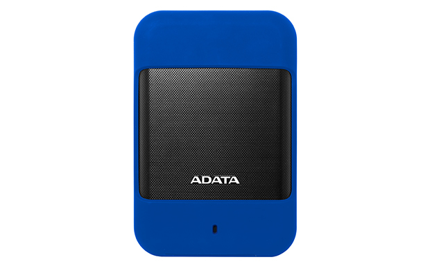 Durable Hd700 - Hard Drive - Encrypted - 2 TB - External - 2.5in - USB 3.0 - 256-bit - Blue