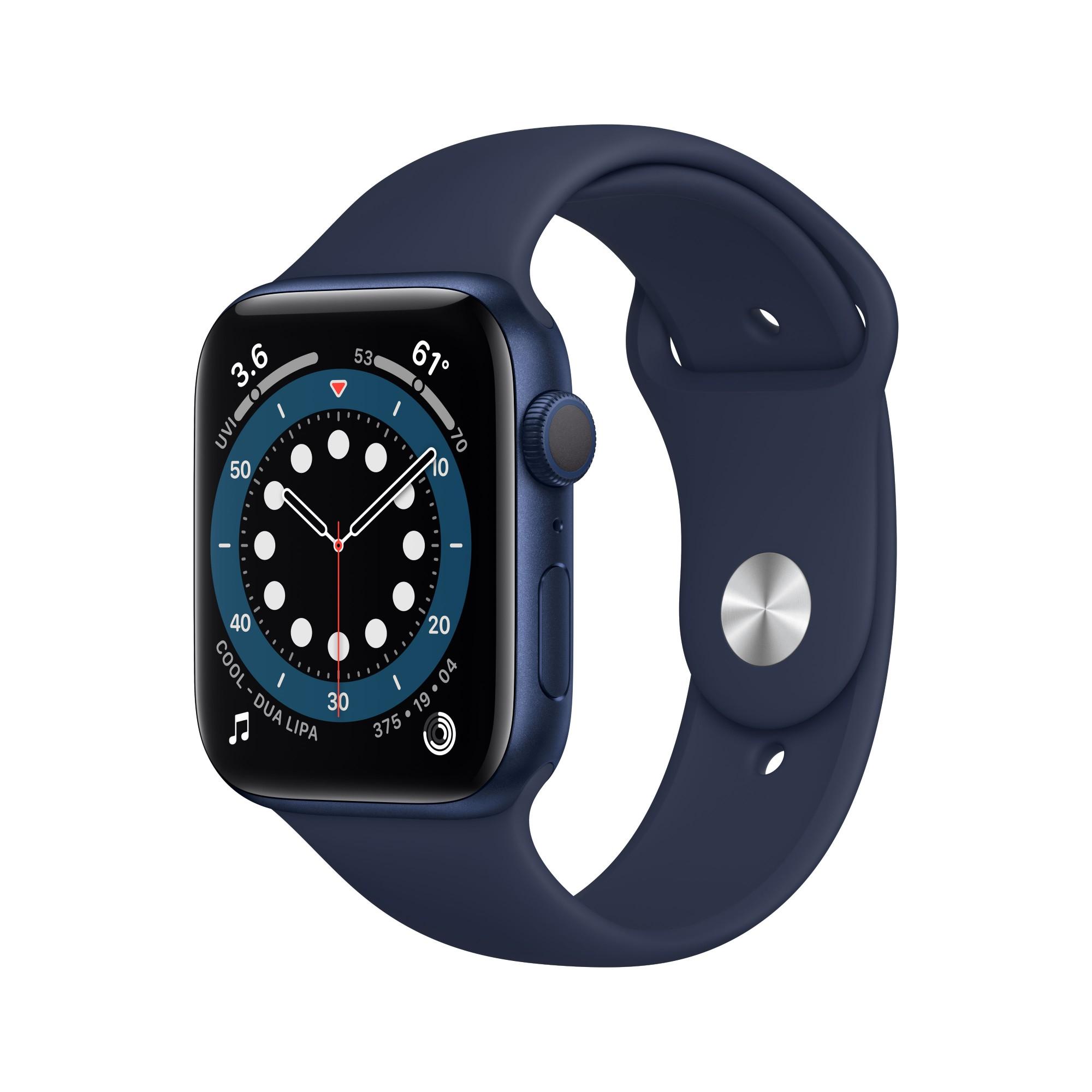 Apple Watch Series 6 OLED 40 mm Azul GPS (satélite)