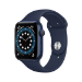 Apple Watch Series 6 OLED 40 mm Azul GPS (satélite)