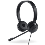 DELL UC350 mobile headset Binaural Head-band Black