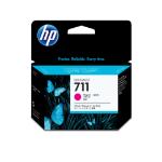 New Genuine HP 711 3-pack 29-ml Magenta DesignJet Ink Cartridges