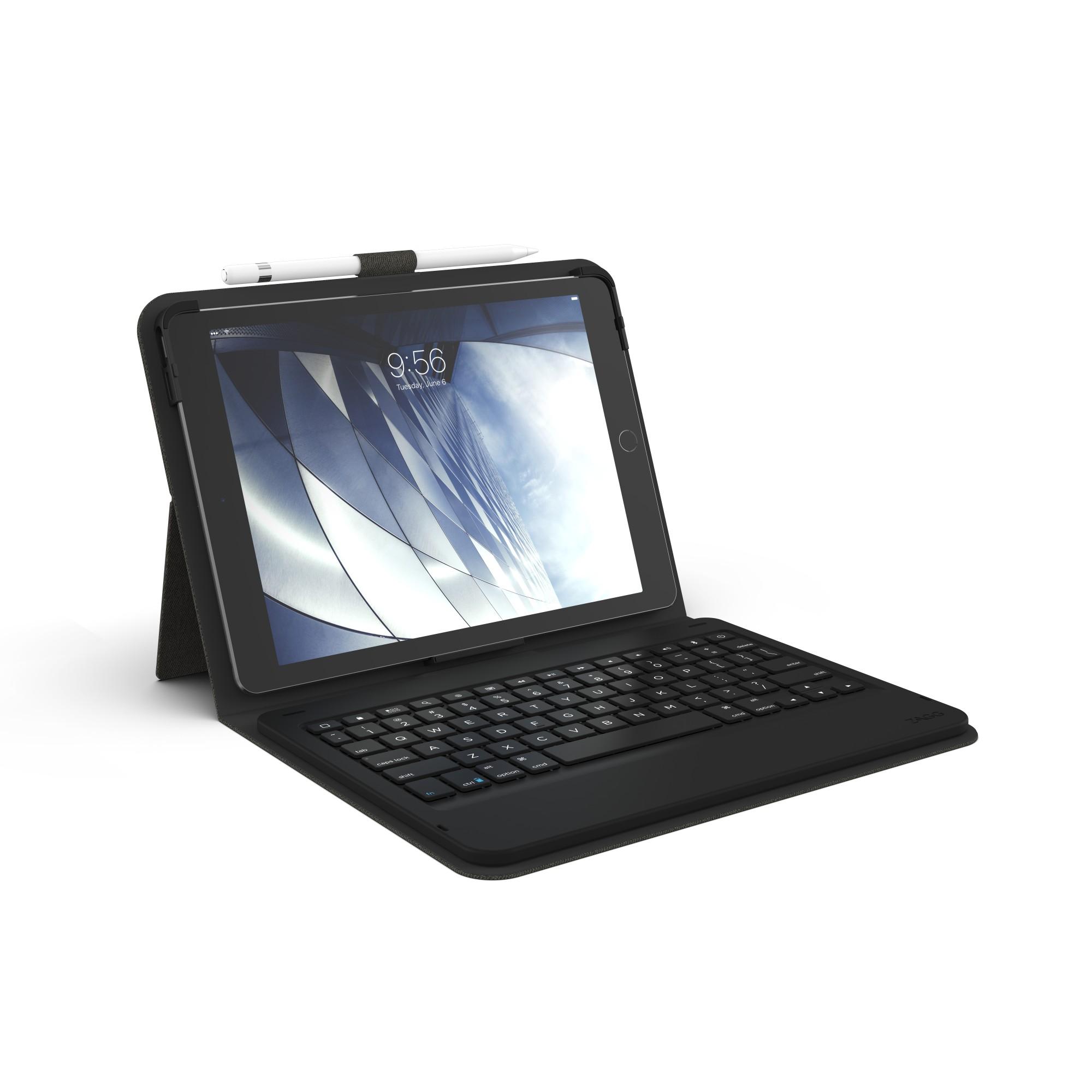 ZAGG ID8BSF-BBS teclado para móvil Español Carbón vegetal Bluetooth