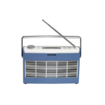 Denver Electronics DAB-37 Personal Digital Blue radio