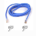 Belkin CAT 5 PATCH CABLE 1m Blue networking cable