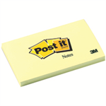 Post-It Notes, 3 in x 5 in, Canary Yellow, 12 Pads/Pack self-adhesive note paper