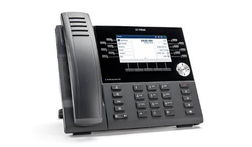 Mitel MiVoice 6930 IP phone Black Wireless handset TFT Wi-Fi
