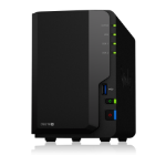 Synology DS218+/20TB-REDPRO 2 Bay NAS
