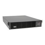 Tripp Lite UPS Smart Online 3000VA 2500W 200V-240V Double-Conversion, Extended Run, Network Card Options, USB, DB9 Serial, 2U Rackmount / Tower