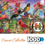 SURE-LOX PUZZLE SURE-LOX 68.58X48.26CM CANVAS COLLECTION 1000PC BEAUTIFUL BIRDS ( EACH )