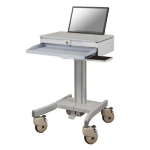 Newstar MED-M100 Notebook Multimedia cart Grey multimedia cart/stand