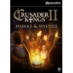 Paradox Interactive Crusader Kings II: Monks and Mystics Video Game Downloadable Content (DLC) PC/Mac/Linux English