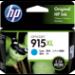 HP 915XL 1 pc(s) Original High (XL) Yield Cyan