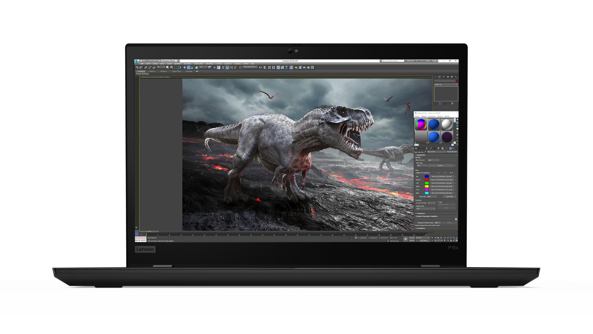 Lenovo ThinkPad P15s Mobile workstation Black 39.6 cm (15.6