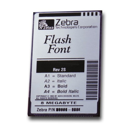Zebra Font Pack