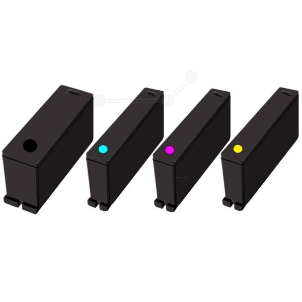 Lexmark 14N1912E (100) Ink cartridge multi pack, 1x170pg + 3x200pg, Pack qty 4