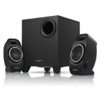 Creative Labs A250 speaker set 2.1 channels 9 W Black