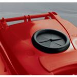 FSMISC 360L RED LOCK BOTTLE WHEELIE BIN