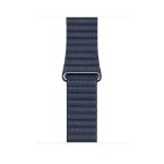 Apple 44mm Diver Blue Leather Loop - Large