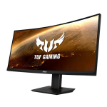 "ASUS VG35VQ computer monitor 88.9 cm (35"") 3440 x 1440 pixels UltraWide Quad HD LED Black"