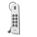 Belkin BSV804VF2M 8AC outlet(s) 2m White surge protector