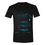 Star Wars Men's Rogue One Galactic Empire Star-Fighter Striker T-Shirt, Extra Extra Large, Black (TS019ROG-XXL