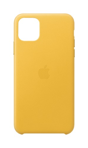 """Apple MX0A2ZM/A mobile phone case 16.5 cm (6.5"""") Cover Yellow"""