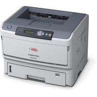 OKI B840DN A3 mono laser printer, 40ppm mono A4, 22ppm mono 1200 x 1200dpi print resolution, 3 Year Warranty (upon registration)